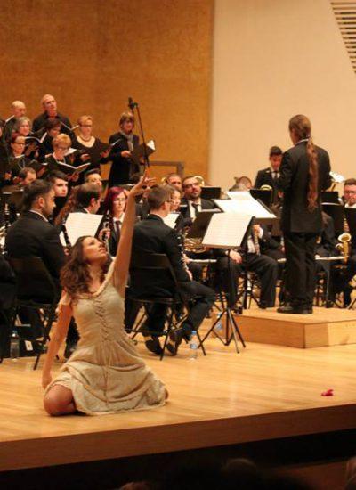 La Unió Musical L'Aurora a l'ADDA