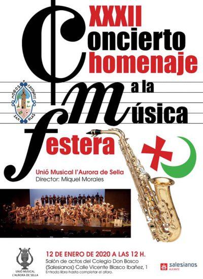 Concert homenatge a la música festera